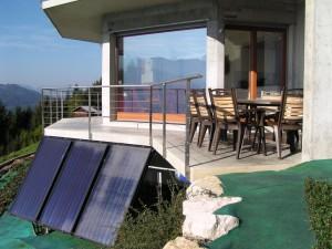 Terrases et bains de soleil Balcon du Grand-Massif
